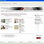 Website des Staatsarchives